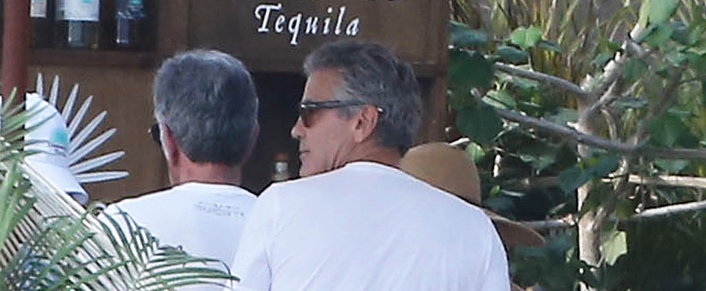 George and Amal Have a Hot Celebration With Cindy and Rande