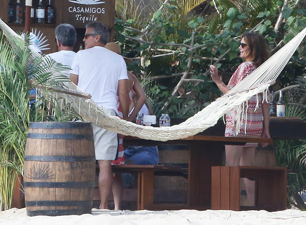 George and Amal Clooney soak up the Mexican sun as they enjoy festive vacation  George-Clooney-Amal-Alamuddin-Mexico