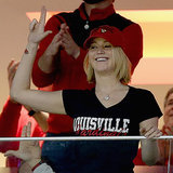 Jennifer Lawrence at Baseball Game in Kentucky | Video
