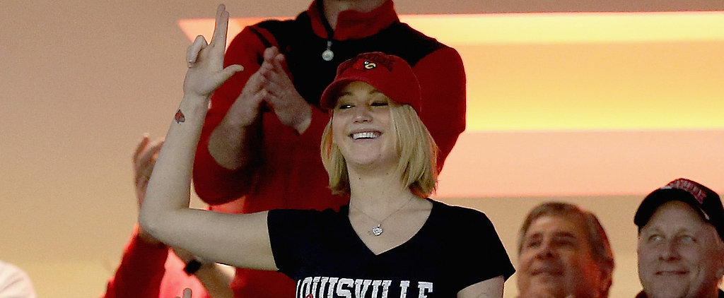 Jennifer Lawrence's Basketball Spirit Might Make You Love Her Even More