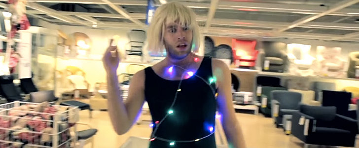 "This Man Takes Over Ikea With His Hilarious Performance to Sia's ""Chandelier"""