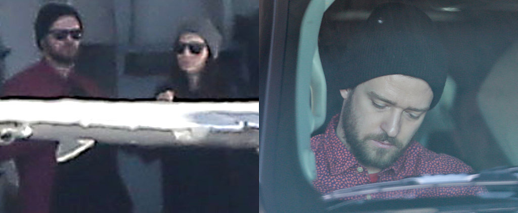 Justin Timberlake and Jessica Biel Jet Out of Town For the Holidays