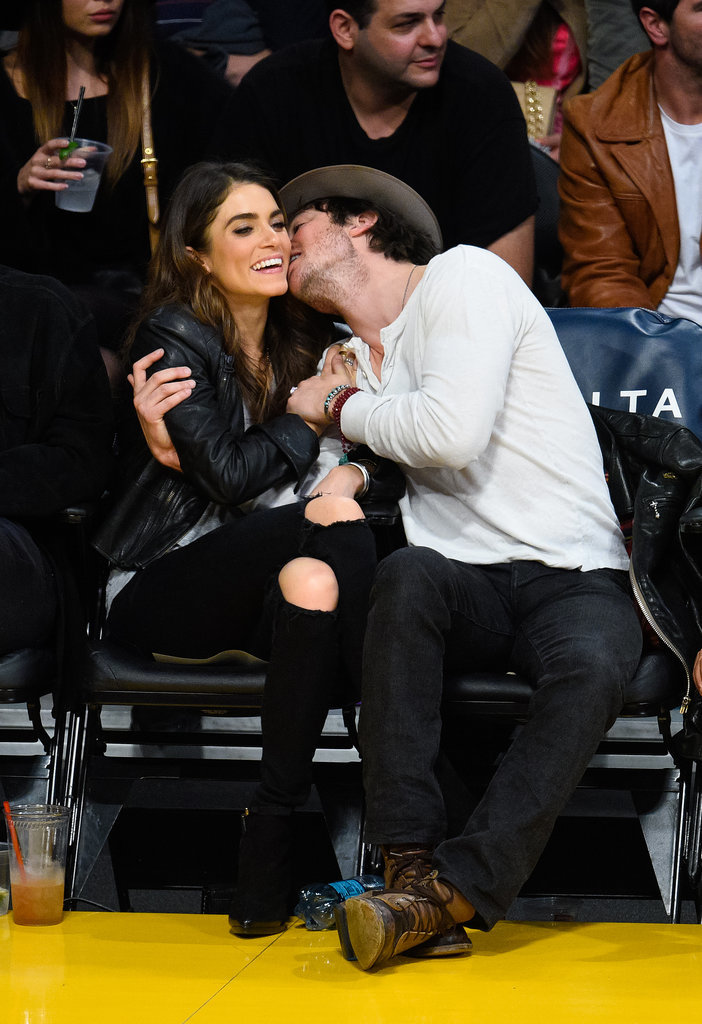 Nikki Reed and ian