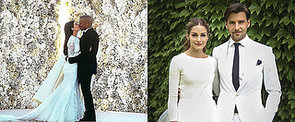 The Best Celebrity Bridal Beauty Looks of 2014, From Angelina to Kim