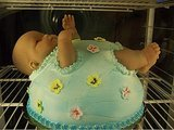 These May Be the Craziest Baby Shower Cakes You'll Ever See