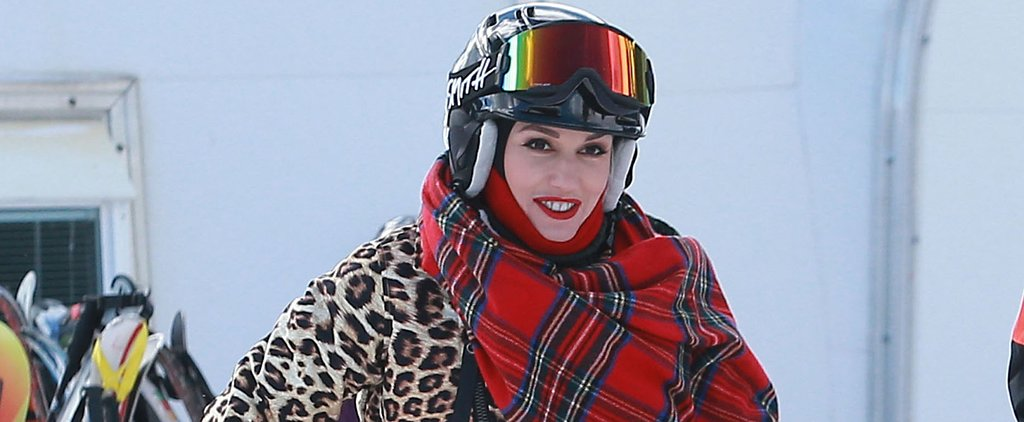 Gwen Stefani Takes a Sweet Escape on the Slopes