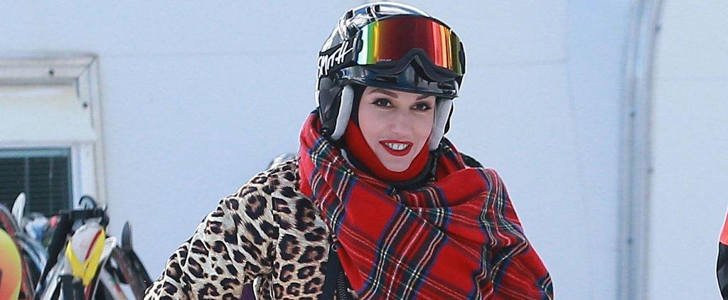 Gwen Stefani Takes a Sweet Escape on the Slopes