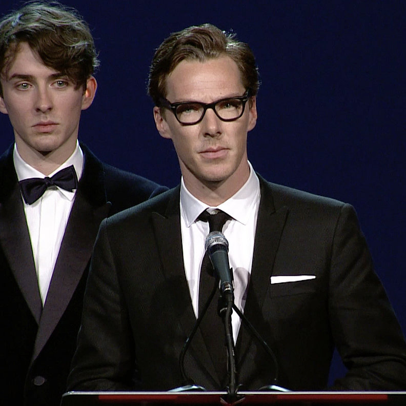 Benedict Cumberbatch's Speech At Palm Springs Film Fest