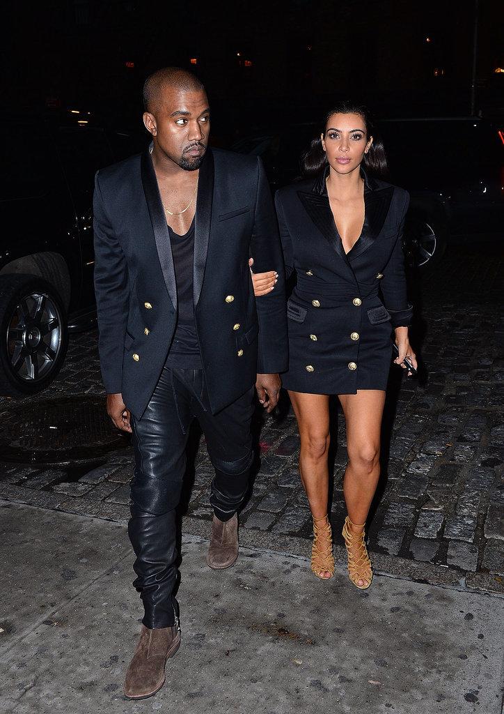 They've Got Matching Balmain Blazers