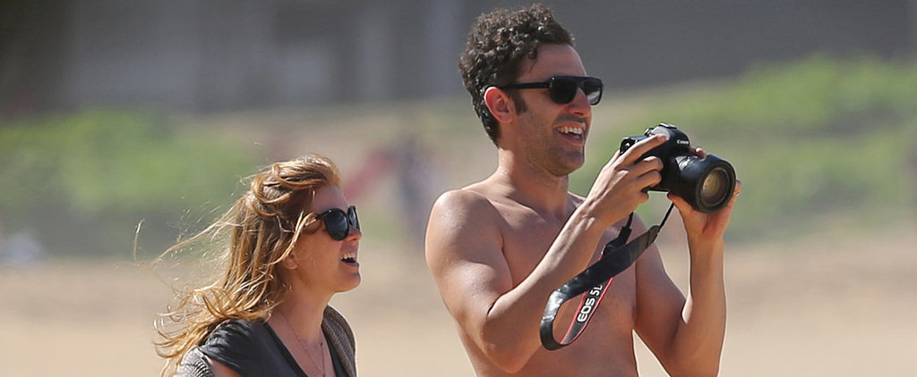 Isla Fisher and Sacha Baron Cohen Share a Bump-Filled Beach Getaway