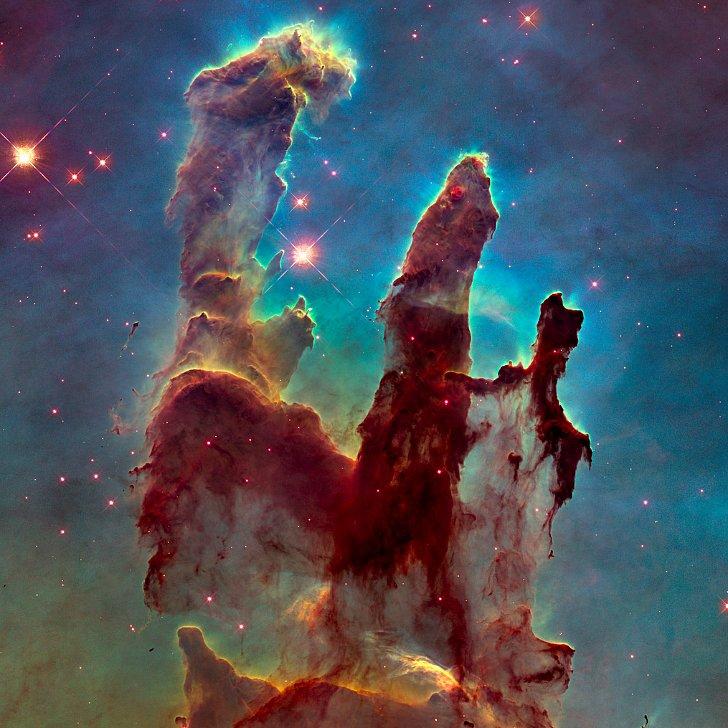 hubble space telescope pillars of creation - photo #11