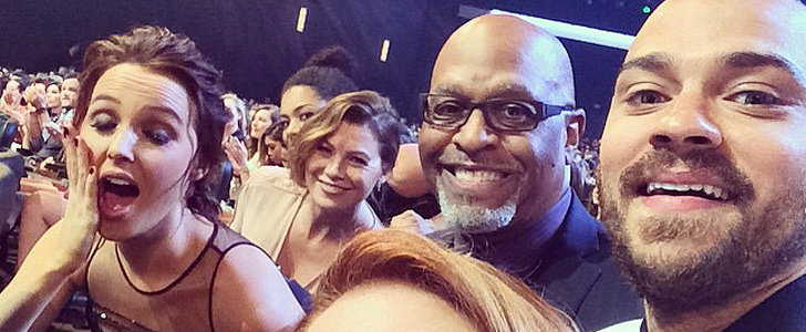 The Cast of Grey's Anatomy Had the Best Time at the PCAs