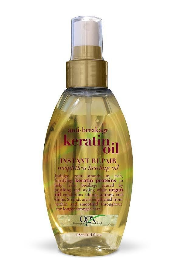 OGX Anti-Breakage Keratin Oil Instant Repair Weightless Healing Oil