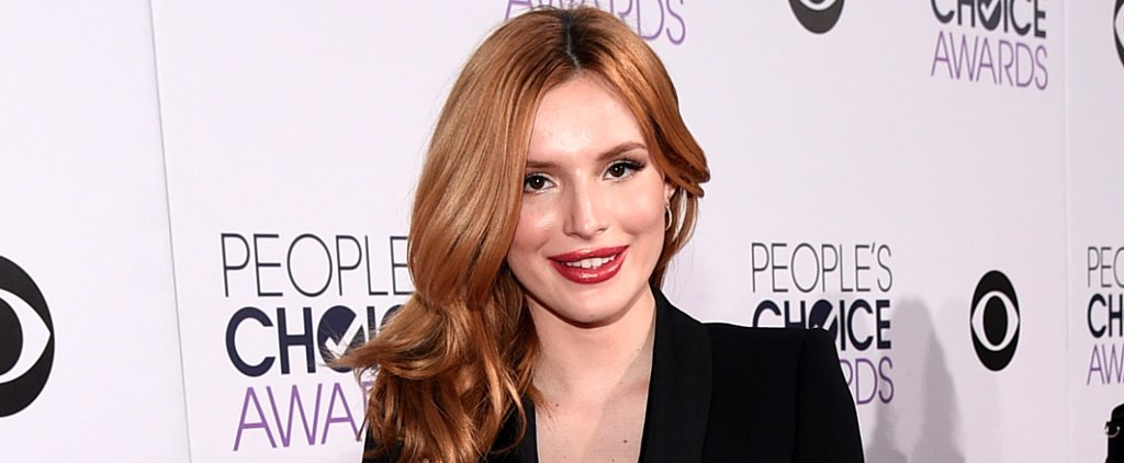 Bella Thorne's People's Choice Awards Manicure Took Two Hours