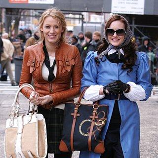 Blair Waldorf and Serena Van Der Woodsen Hair on Gossip Girl