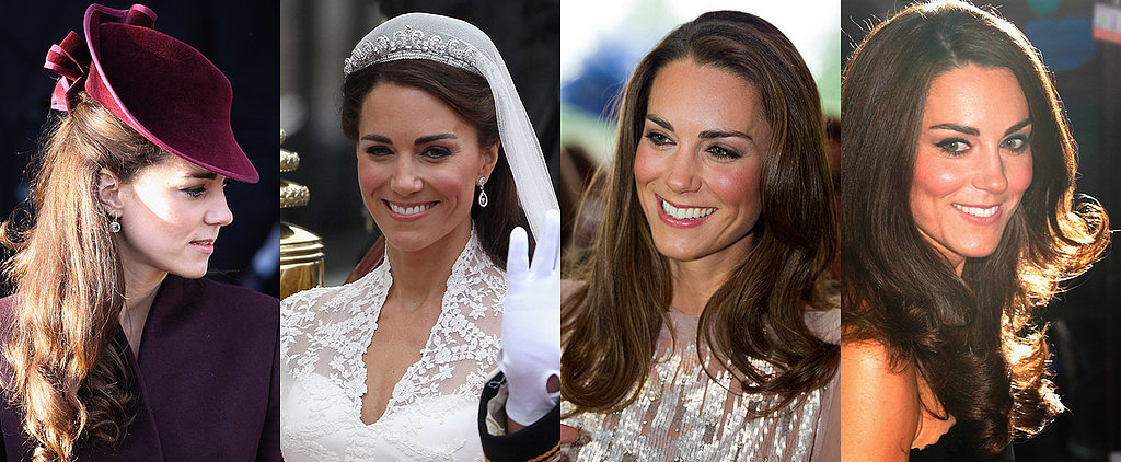 Kate Middleton's Best Hair and Makeup Looks of All Time