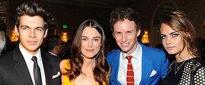 Stars Flock to BAFTA's Awards Season Tea Party