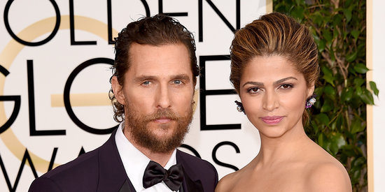 Matthew McConaughey And Camila Alves Stun At The Golden Globes
