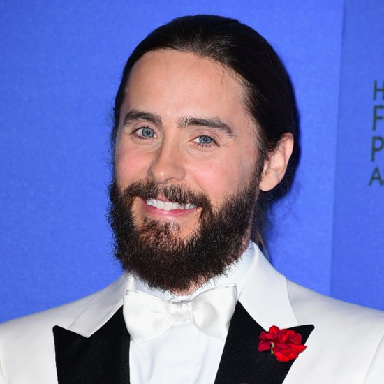 Jared Leto Man Braids Golden Globes