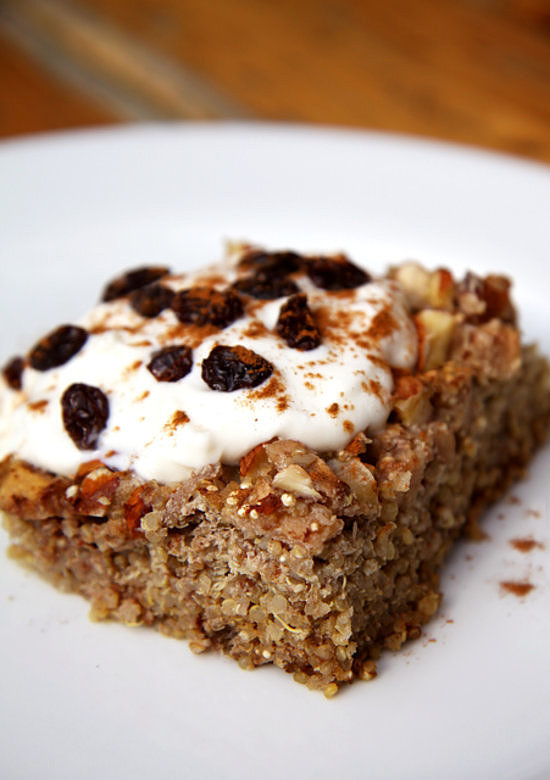Apple Quinoa Breakfast Bake