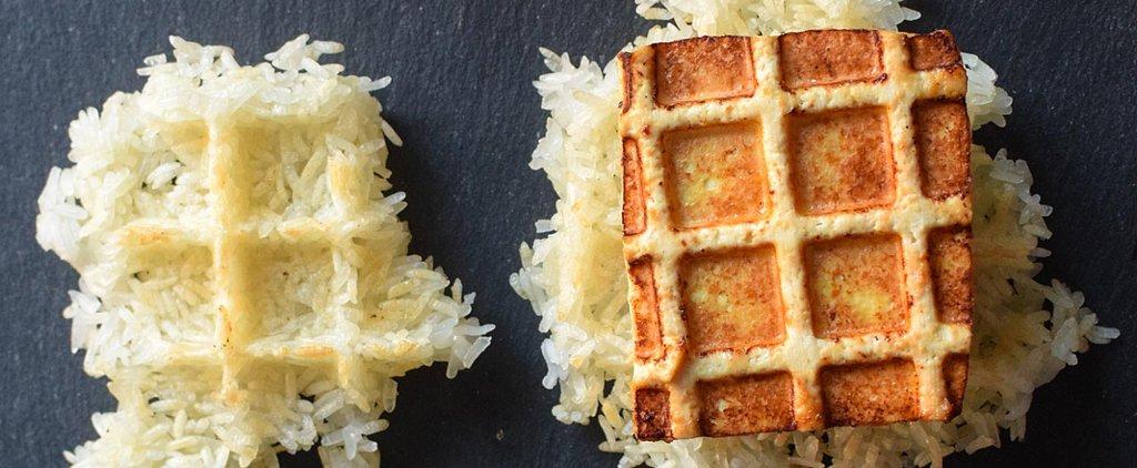 How to Make Crispy Tofu With a Waffle Maker