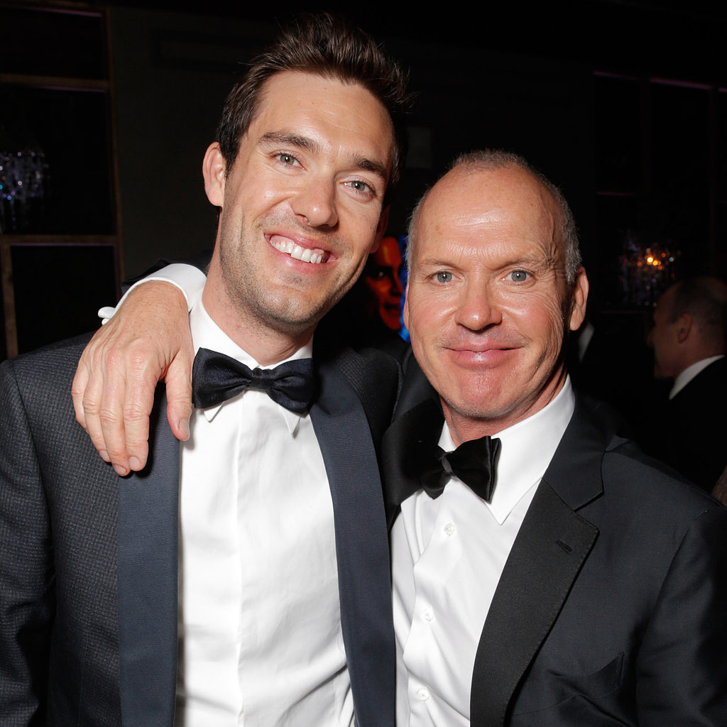 Photo of Michael Keaton & his  Son  Sean Douglas