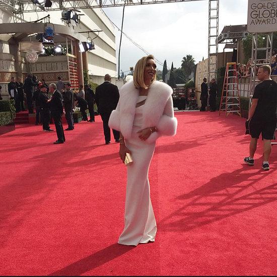 Social Media Photos of Celebrities at Golden Globes 2015