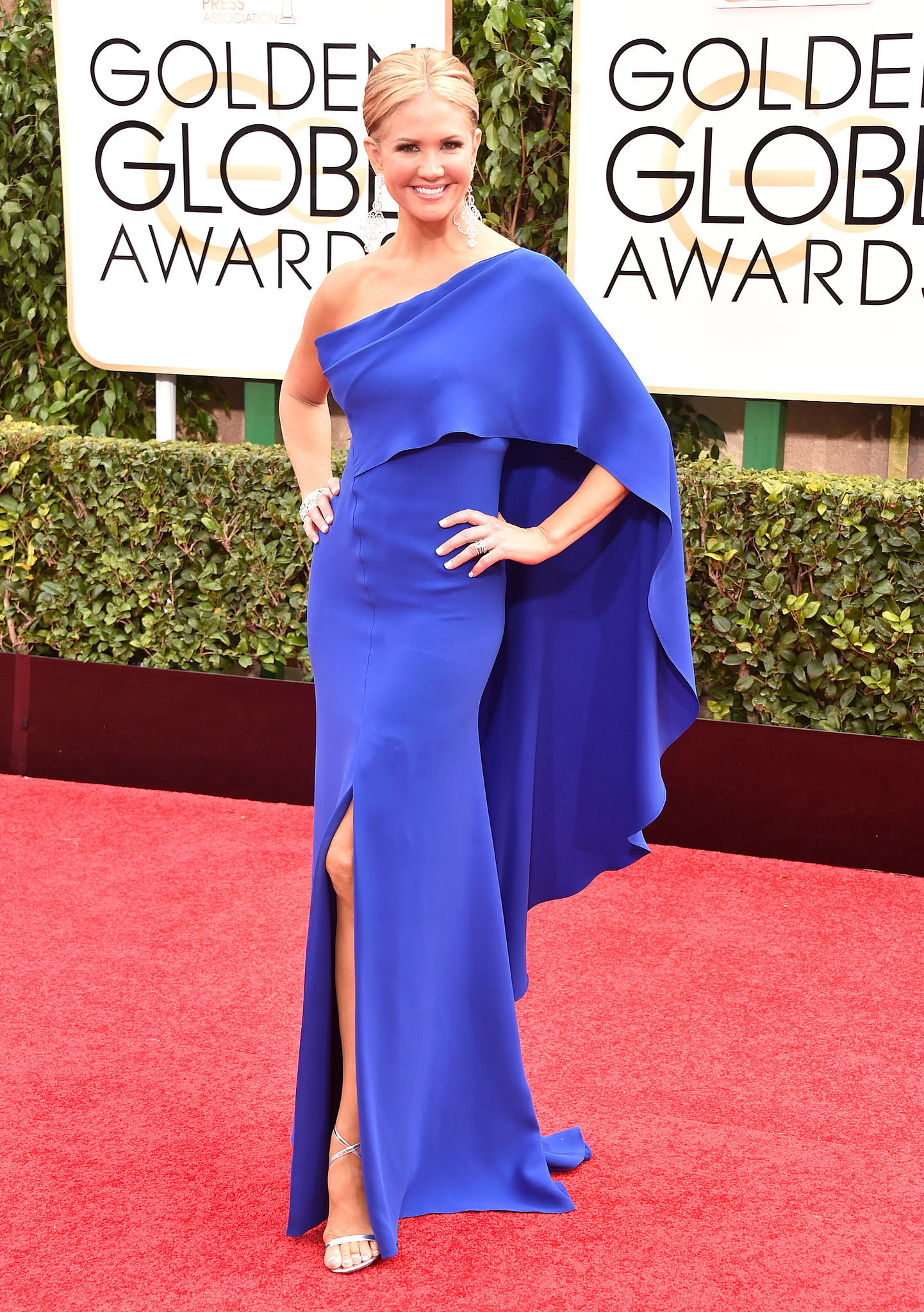 Nancy o dell golden globes glamour see the best dresses on the red