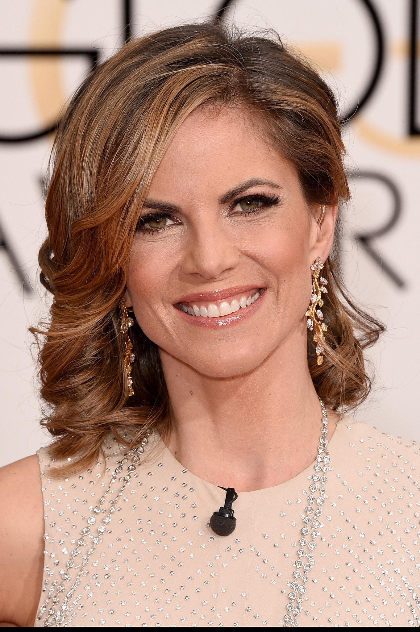 Natalie Morales | All the Golden Hair and Makeup Looks ...
