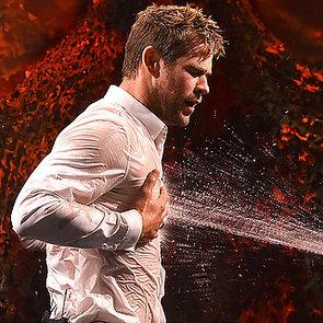 Chris Hemsworth and Jimmy Fallon's Water War