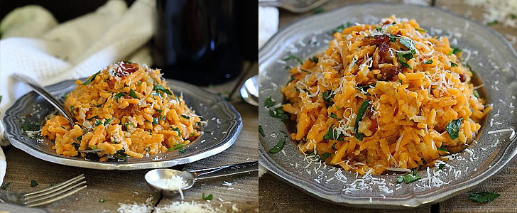 Spice Up Your Weekly Meal Plan With this Sweet Potato Carbonara