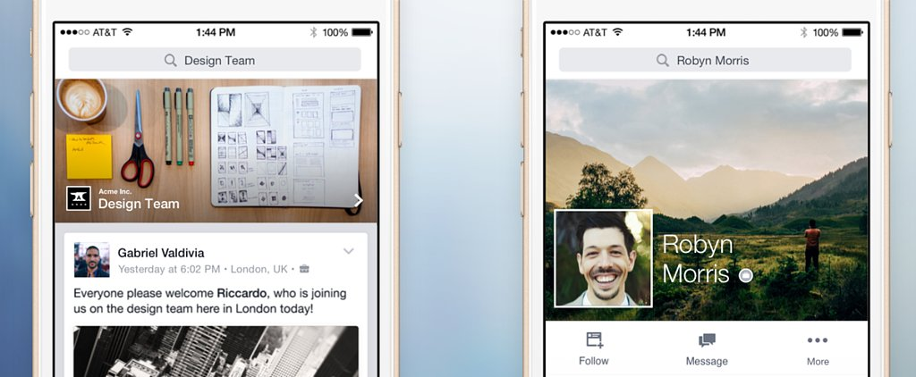 Facebook's New Work Social Network Changes Everything