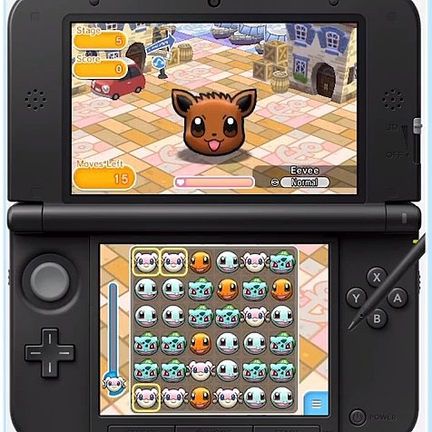 Pokemon Shuffle Game