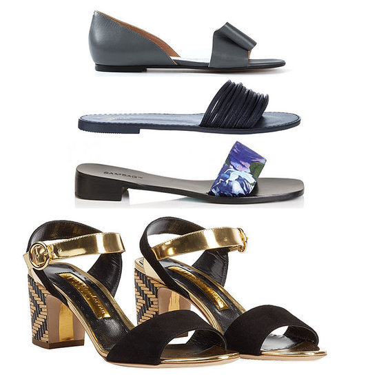Flat Sandals, Slides and High Heels to Shop Online