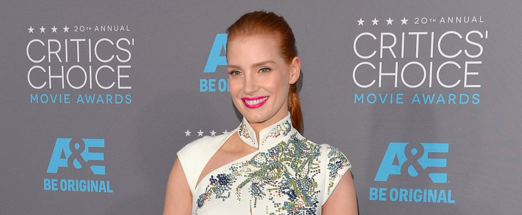 See Every Angle of Jessica Chastain's Epic Tiered Braid