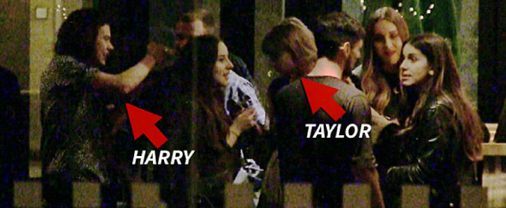 This Video of Harry Styles Approaching Taylor Swift Raises So Many Questions