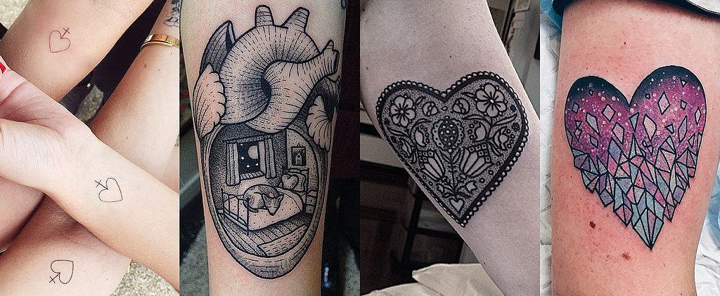 You're Gonna Be Weak in the Knees Over These 58 Adorable Heart Tattoos