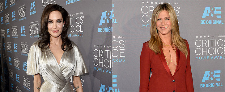 Jolie and Aniston Just Barely Avoid Each Other at Critics' Choice Awards