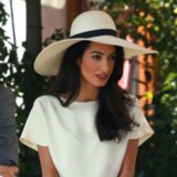 Amal Alamuddin Clooney Hair and Makeup Photos