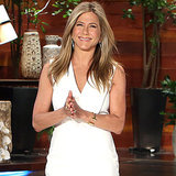 Jennifer Aniston on The Ellen DeGeneres Show January 2015
