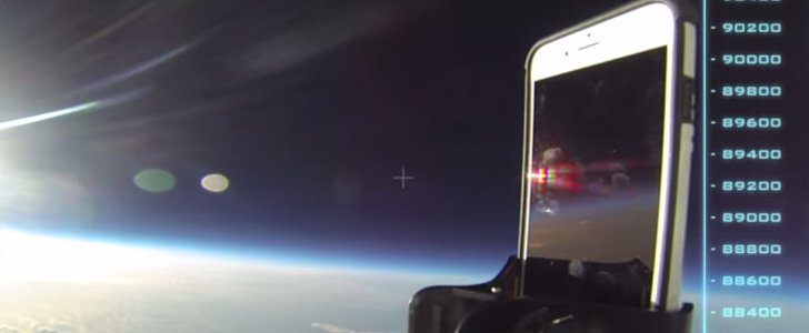 Someone Dropped an iPhone From Space to See If It Would Survive