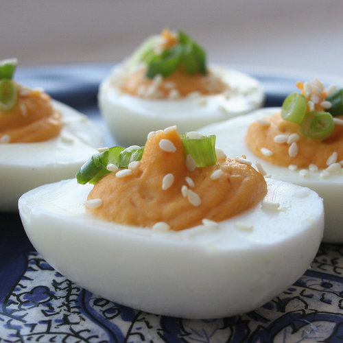 Sriracha Deviled Eggs | POPSUGAR Food