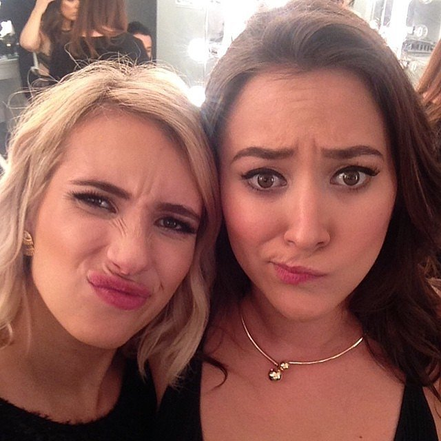 """Hold up — did you know Emma Roberts and Zelda Williams are longtime pals?! """"Can't believe I've known this gorgeous girl 10 years,"""" Emma captioned this 2015 snap."""