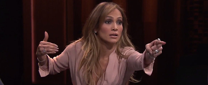 Jennifer Lopez Teams Up With Jimmy Fallon For the Most Intense Game of Catchphrase
