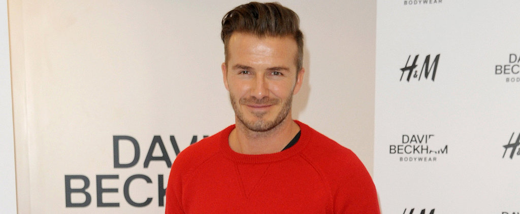 David Beckham's New Butt Shot Is the Sexy Stuff of Dreams