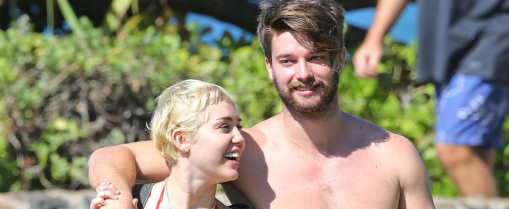 Miley Cyrus and Patrick Schwarzenegger Show Skin and PDA in Hawaii