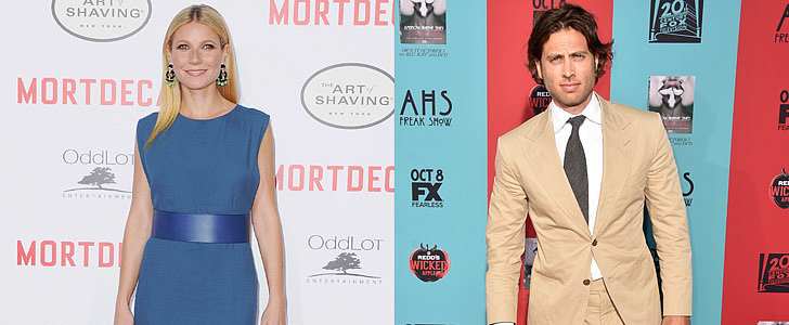 Gwyneth Paltrow and Brad Falchuk Hold Hands at the Mortdecai Afterparty