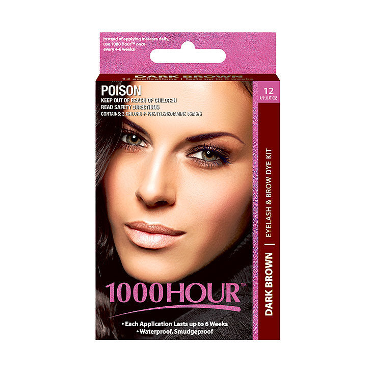 1000 Hour Eyelash & Brow Dye Kit, $18.95
