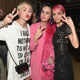 Celebrities Katy Perry and Rihanna at 2015 Fashion LA Awards
