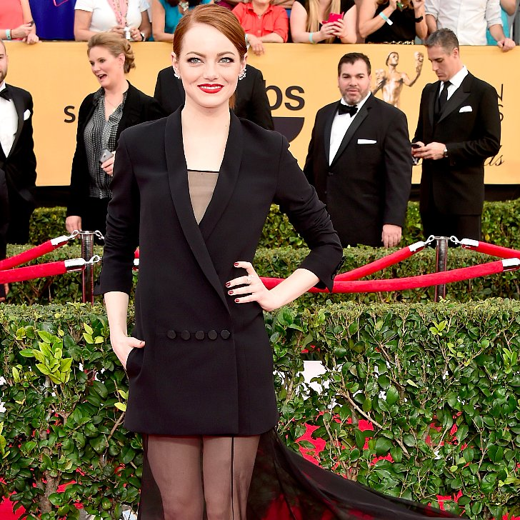 Emma Stone's SAG Awards Dress 2015